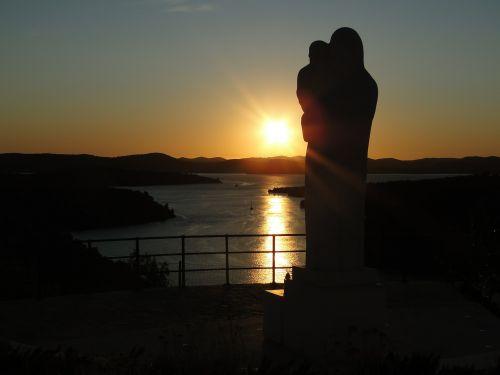 abendstimmung sunset mediterranean
