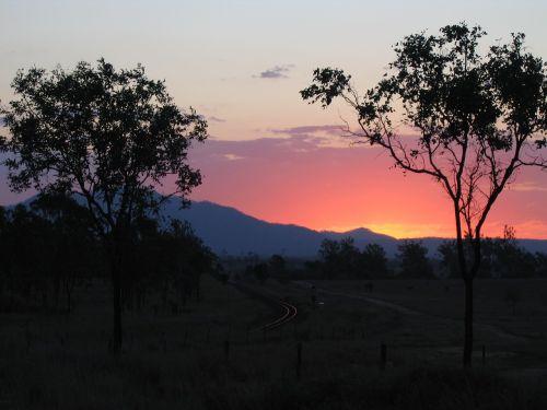 abendstimmung afterglow sun
