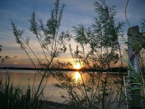 abendstimmung sunset romance