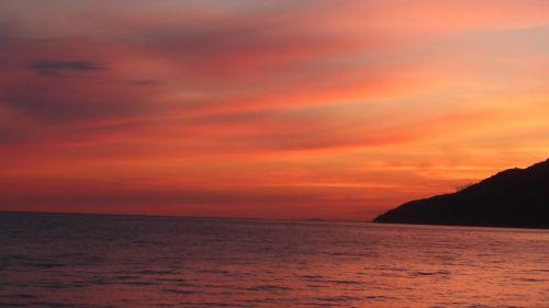 abkhazia gagra sunset