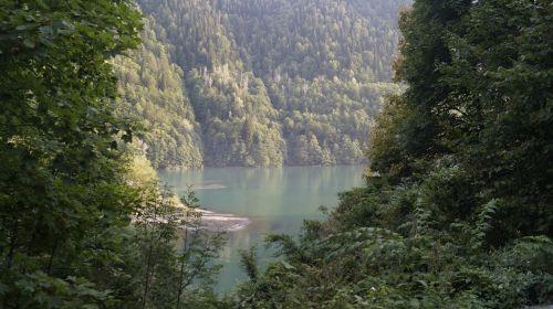 abkhazia ritsa lake