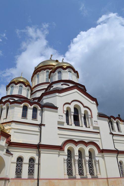 abkhazia new athos monastery