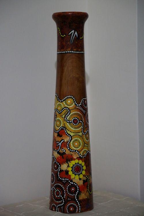 aboriginal wooden handicraft art