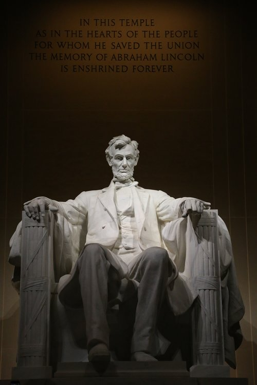 abraham lincoln  lincoln president of the temple