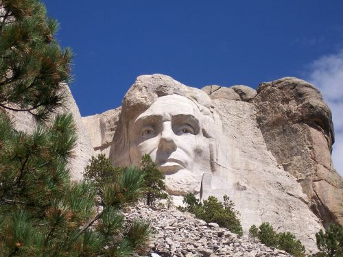 abraham lincoln mount rushmore national monument