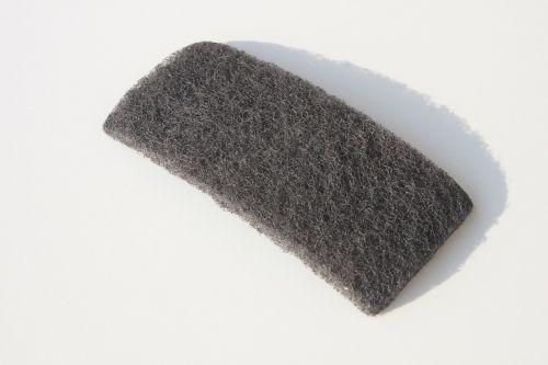 abrasive clean microfiber