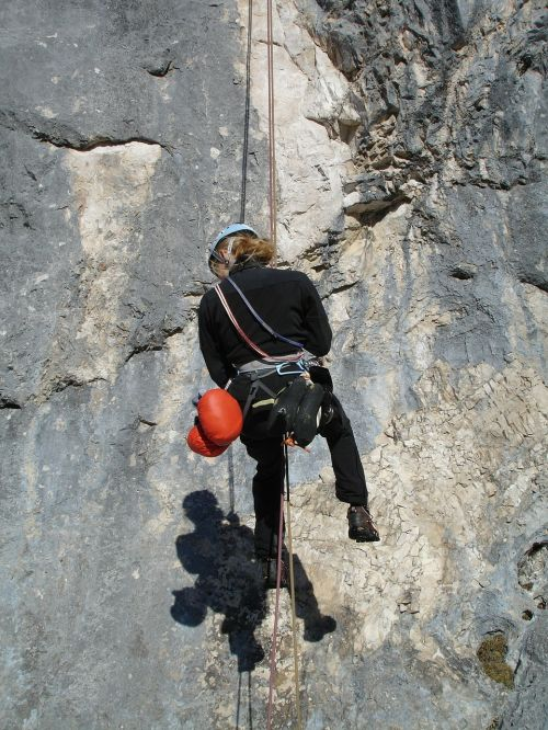abseil climb rope technology