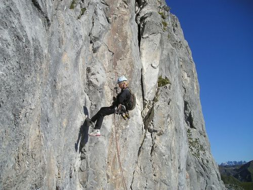 abseil bersport rock