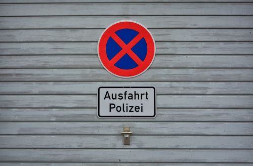 absolute stopping shield no parking