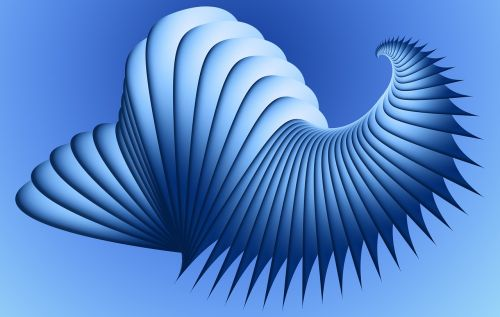 abstract 3d form