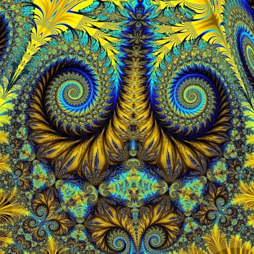 abstract art fractal