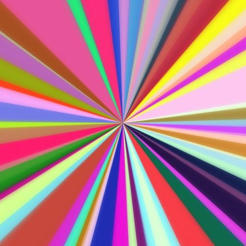 abstract starburst lines