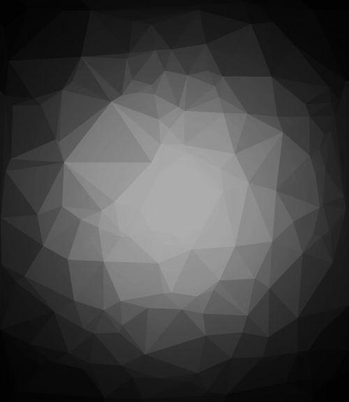 abstract polygon gray