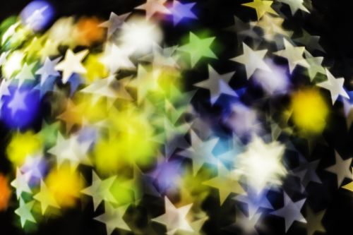 abstract background stars