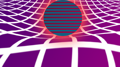 abstract 3d grid