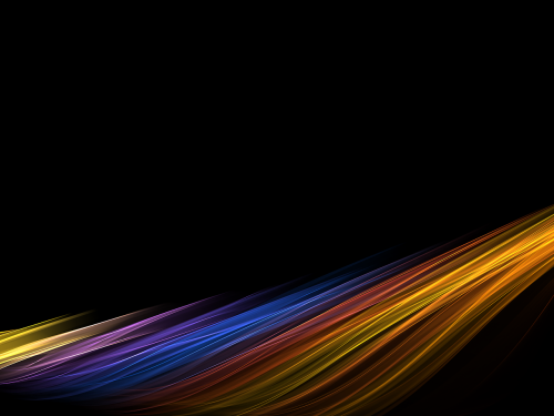 abstract lines rainbow