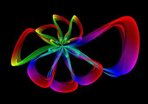 abstraktus,linija,banga,dizainas,modelis,fraktalas,energija,žalias,sumaišyti,kreivė