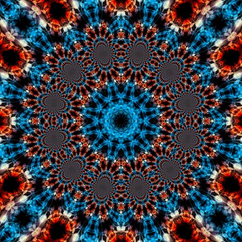 abstract fractal magical