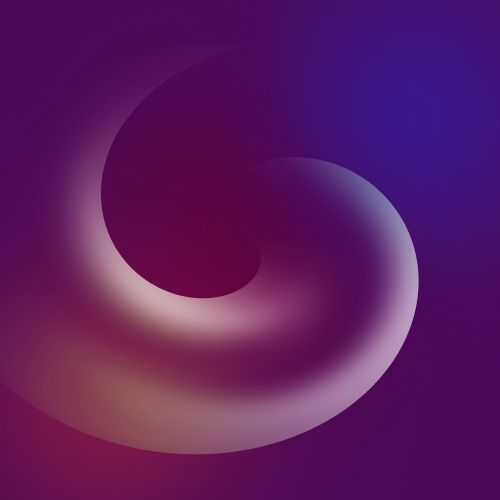 abstract blur shape