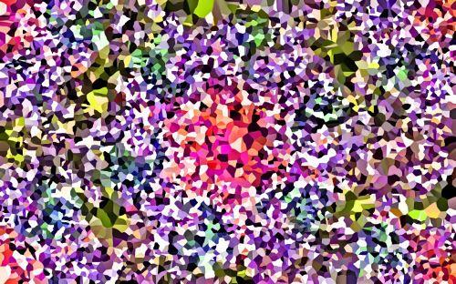 abstract flower flora
