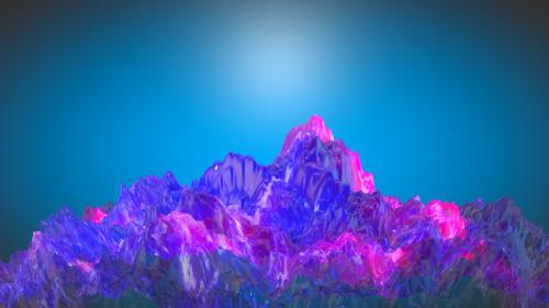 abstract strange 3d
