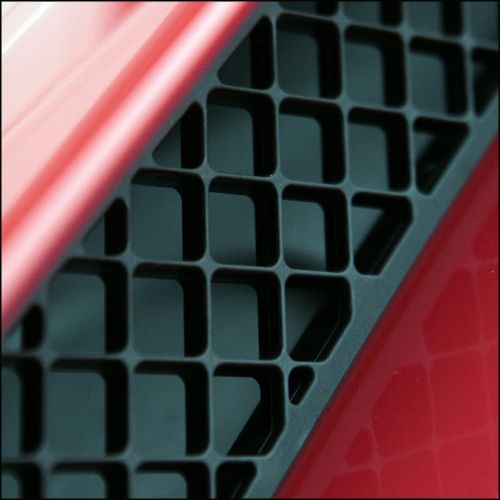 abstract grille air intake