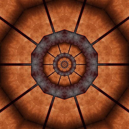 abstract  kaleidoscope  texture