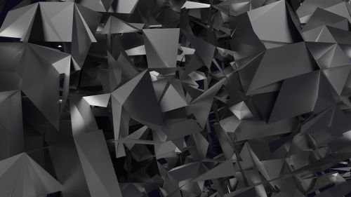 abstract dark tech