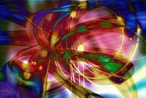 abstract custom art