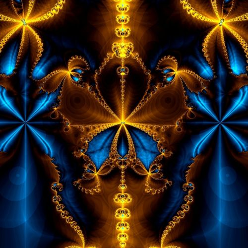 abstract art fractal artwork