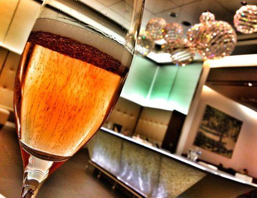 abstract art restaurant romance