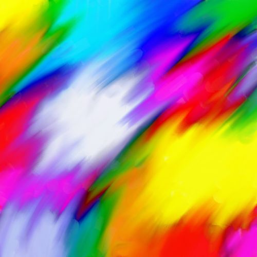 Abstract Colour Blend