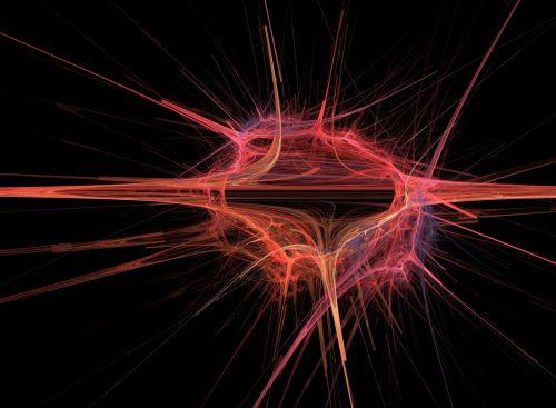 Abstract Cosmic Yarn