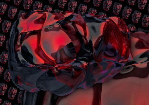 abstraktus, forma, kontūras, abstrakčios formos kontūras