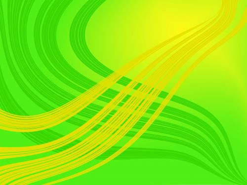 Abstract Green Yellow Background