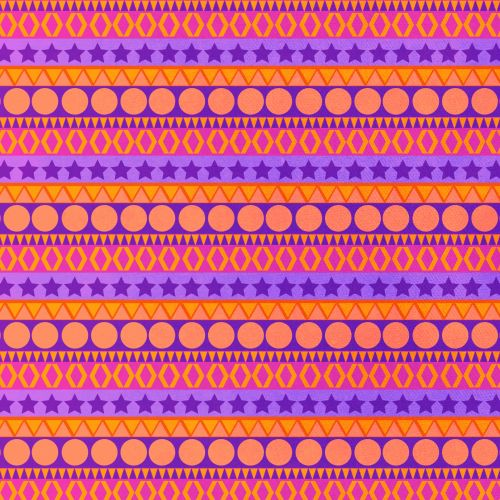 Abstract Lines Seamless  Pattern