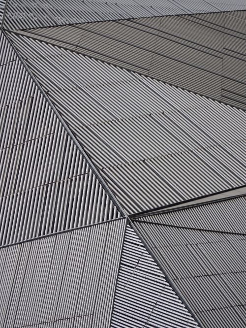Abstract Metal Architecture