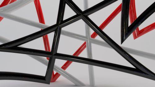 Abstract Modern 3D Art