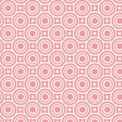 Abstract Retro Circles Background