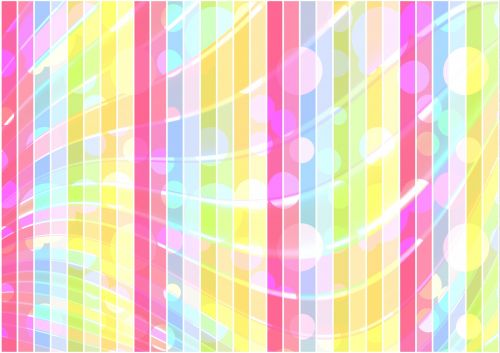 Abstract Stripes Colorful Background