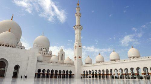abu dhabi sheikh zayed mosque islamic architecture