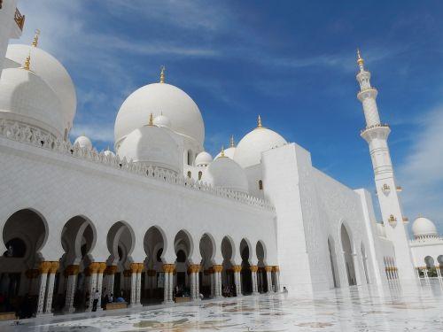 abu dhabi mosque emirates