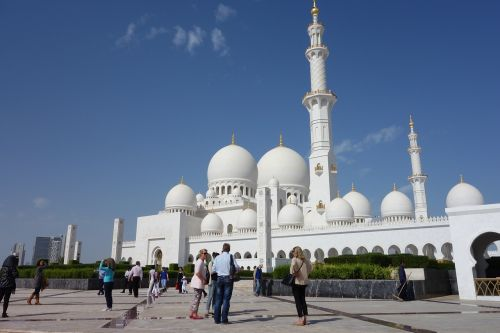 abu dhabi mosque uae