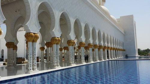 abu dhabi uae mosque