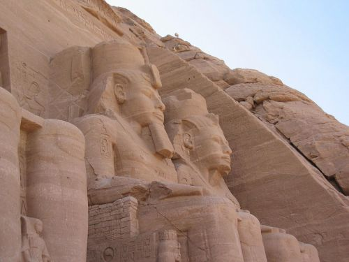 abu simbel historic egypt