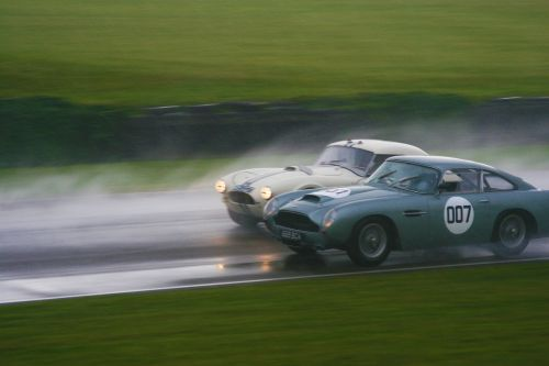 ac cobra aston martin goodwood