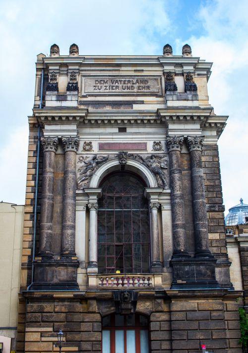 academy of fine arts dresden architecture