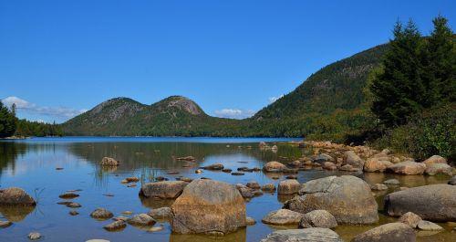 acadia maine lake
