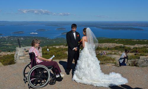 acadia maine wedding