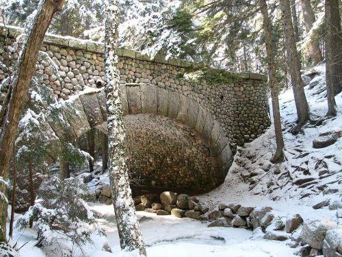 acadia national park maine stream